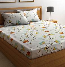 flipkart smartbuy cotton floral double bedsheet buy flipkart smartbuy cotton floral double