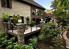 Barriere De Maison Terrasse Balcon D Une Maison Luxueuse Garde Corps Net