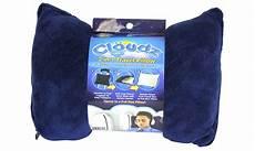 cloudz 2 in 1 navy travel pillow groupon