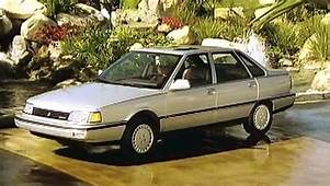 &187 1988 Renault Medallion Manufacturer Promo