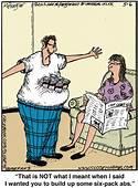 Chucks Fun Page 2 Six McPherson Cartoons