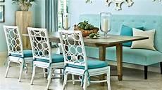 dining room seating ideas seaside design coastal living youtube