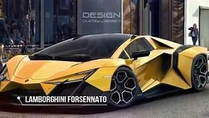 HOT NEWS The Lamborghini Forsennato  Would Be A Proper