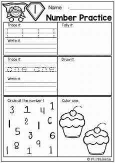 free number practice kindergarten math worksheets math