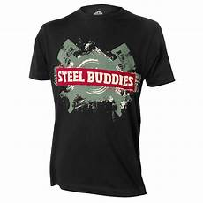 steel buddies t shirt steel buddies t shirt quot logo quot t shirts hoodies steel