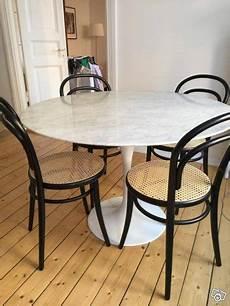 runt marmorbord matbord 110 cm som nytt transport