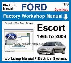 service repair manual free download 1985 ford escort on board diagnostic system ford escort workshop repair manual