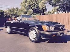 1986 mercedes 560 sl roadster convertible hardtop included classic mercedes benz sl class 1986