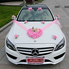 2018 wedding car flower decorations artificial flowers
