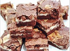 chocolate mascarpone brownies_image
