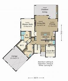 house plans for empty nesters a modern empty nester house plan with unique and award