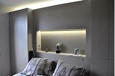 lit avec armoire en tete de lit placard et t 234 te de lit en 2019 lit pour chambre