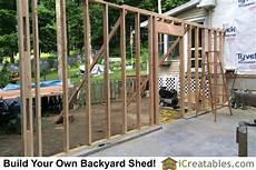 Framing Garage Walls by Pictures Of Detached Garages Plans By Icreatables