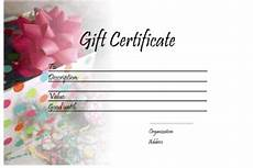 downloadable gift card templates gift certificate templates printable gift certificates