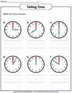 help your students learn how to tell time visit super teacher worksheets to view our entire