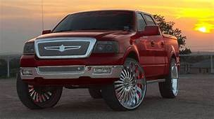 Ford F 150 On 26 Inch Rims  Hot Vehicles Pinterest