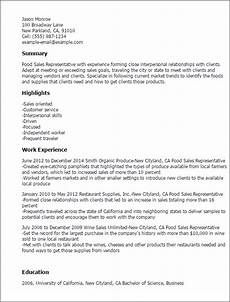 resume wine sales representative