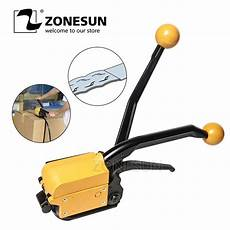 zonesun a333 strapping machine manual seallesspp steel straing packing tool steel strapping