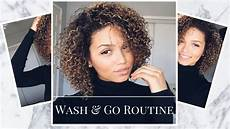 wash and go routine for 3b 3c curly hair bloomfield youtube