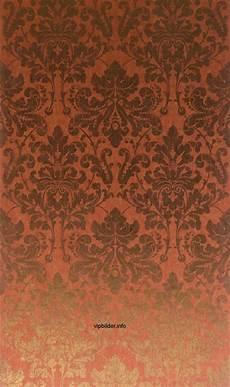 tapeten rot tapeten muster metallic im neo barock stil online kaufen