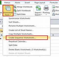how to add new worksheets with customized names in excel 2007 2010
