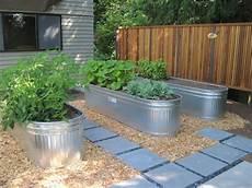 Metal Garden Containers