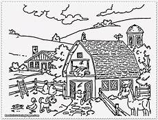 Malvorlagen Gratis Bauernhof Farm Coloring Pages To And Print For Free