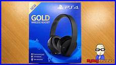 new gold wireless headset ps4 ps4 pro 2018 model