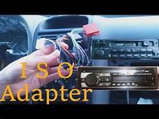 iso adapter f 252 r auto radios selbst verl 246 ten bauen opel