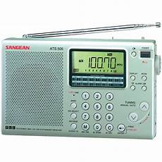 digital radio receiver test sangean ats505p 16 band digital am fm stereo wave