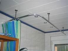 duschvorhangstange rund alu duschvorhangstange 216 20mm u form mit innenlaufrohr