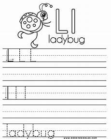 printable worksheets for letter l 24565 letter practice l worksheets dorky doodles