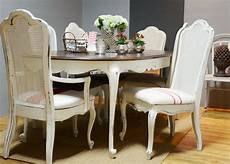 esstisch shabby look top 50 shabby chic dining table and chairs home