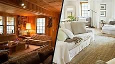 cottage living before after cottage living room makeovers