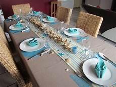 Decoration De Table Theme Mer