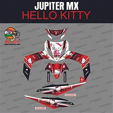 jual beli sticker striping motor stiker yamaha jupiter mx