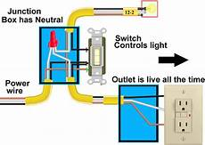image result for electrical outlet wiring with switch wire switch outlet wiring light switch