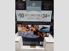 Hornblower Cruises Discount Gift Card