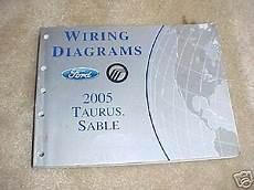 2005 ford taurus wiring diagrams ebay