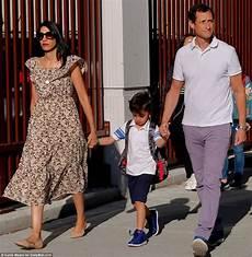 Huma Abedin And Anthony Weiner Take To School
