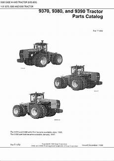 9380 cih tractor wiring diagram 9370 9380 9390 ih 4wd tractor parts catalog