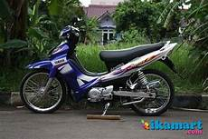 Modif Jupiter Z 2005 by Modifikasi Jupiter Z 2005 Biru Modifikasi Motor Terbaru