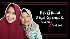 Tips Tutorial Jilbab Segi Empat Yang Aman Untuk Anak