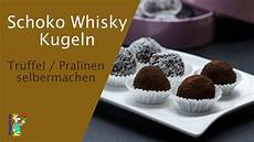 Schoko Whisky Kugeln Tr 252 Ffel Pralinen Selber Machen