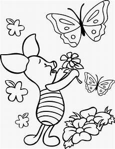 Kumpulan Gambar Mewarnai Bunga Dan Kupu Kupu Cantik Untuk
