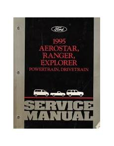 what is the best auto repair manual 1995 geo prizm electronic throttle control 1995 ford aerostar ranger explorer factory service manual 2 volume set
