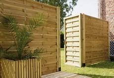 Fetiche Holz Holzzaun Sichtschutz Lamellen