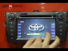 car dvd player for toyota