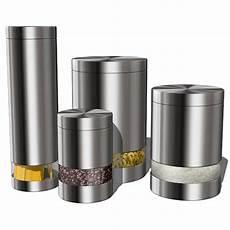modern kitchen canister sets kitchen accesories 02 3d model formfonts 3d models