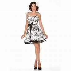 voodoo vixen white black floral vintage 50s style